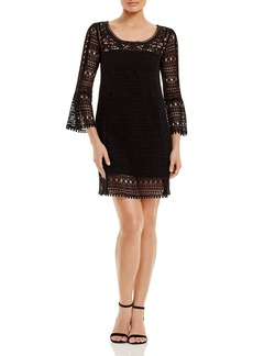 Nanette Lepore Free Spirit Crochet Dress