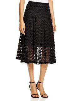 Nanette Lepore Fringed Skirt