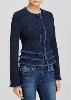 Nanette Lepore Frisky Fringe Jacket