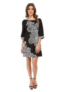 Nanette Lepore Graphic Garden Dress