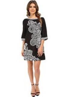 Nanette Lepore Graphic Garden Dress