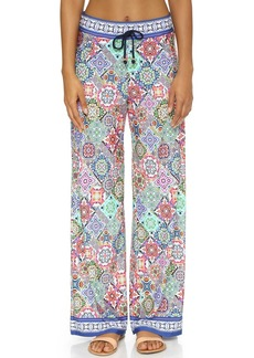 Nanette Lepore Greek Tiles Beach Pants