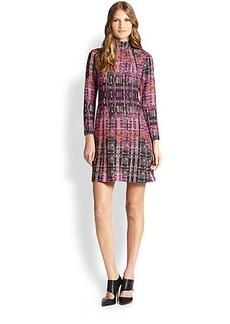 Nanette Lepore Handloom-Print Shift Dress