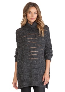 Nanette Lepore Homespun Turtleneck