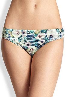Nanette Lepore Hula Hibiscus Charmer Bikini Bottom