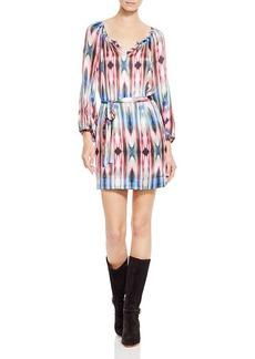 Nanette Lepore Ikat Feather Dress