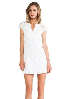 Nanette Lepore Island Rhythm Dress in White