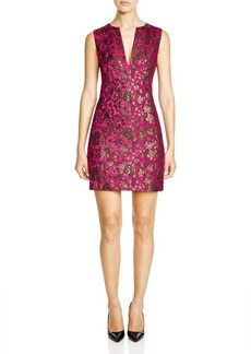 Nanette Lepore It Girl Brocade Shift Dress