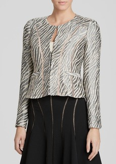 Nanette Lepore Jacket - Zebra Print