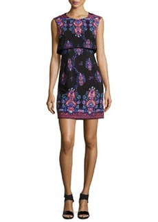 Nanette Lepore Jodhpur Sleeveless Printed Mini Dress