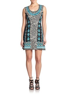 Nanette Lepore Knit Safari Dress