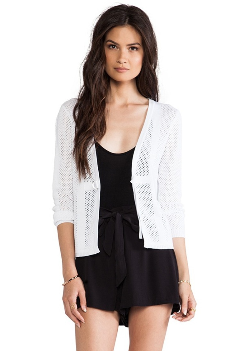 Nanette Lepore La La Land Cardigan in White