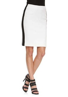 Nanette Lepore La Musica Skirt with Contrast Trim