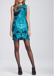 Nanette Lepore La Seine Sheer-Inset Dress