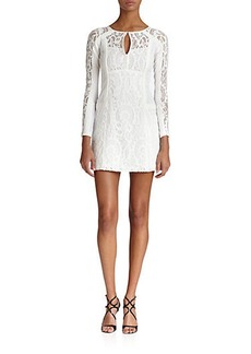 Nanette Lepore Lace & Mesh Adora Dress