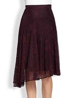 Nanette Lepore Lace Asymmetrical Skirt
