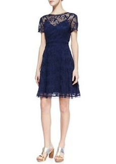 Nanette Lepore Lacy Not Racy Lace Dress