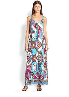 Nanette Lepore Machu Picchu Maxi Dress