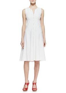 Nanette Lepore Make Believe Zip-Front Dress