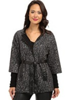 Nanette Lepore Marble Wool Poncho