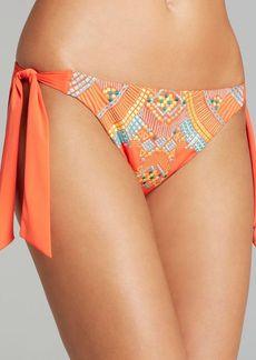 Nanette Lepore Mayan Riviera Oversized Tie Bikini Bottom