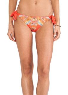 Nanette Lepore Mayan Riviera Vamp Bikini Bottoms