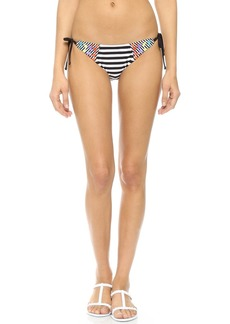 Nanette Lepore Merengue Tie Side Bikini Bottoms