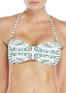 nanette lepore Montecito Tease Bandeau Bikini Top