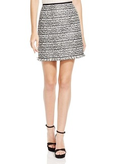Nanette Lepore Moonlight Tweed Skirt