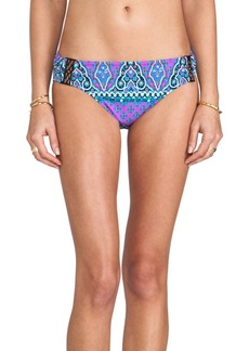 Nanette Lepore Moroccan Medallion Nymph Bikini Bottoms in Purple