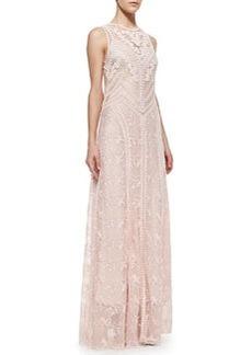 Nanette Lepore Neo-Romantic Lace Sleeveless Dress
