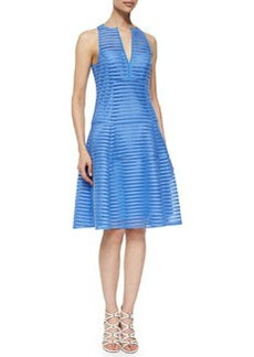 Nanette Lepore Now You See Me Mesh Dress