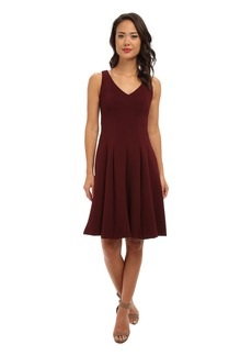 Nanette Lepore Ottoman Plunge Dress