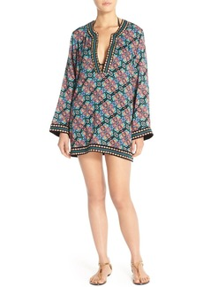 Nanette Lepore 'Paloma' Embroidered Cover-Up Tunic
