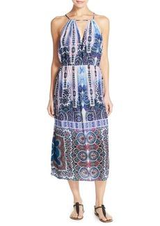 Nanette Lepore 'Paros Paisley' Cover-Up Dress