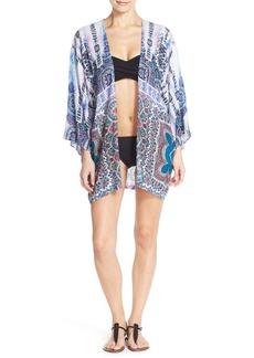Nanette Lepore 'Paros Paisley' Cover-Up Kimono