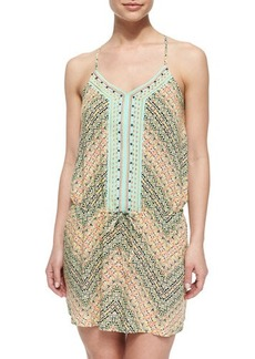 Nanette Lepore Paso Robles Multi-Pattern Short Dress  Paso Robles Multi-Pattern Short Dress