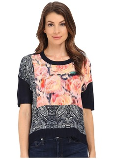 Nanette Lepore Playful Crop Top