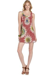 Nanette Lepore poppy printed 'Medallion' sleeveless dress