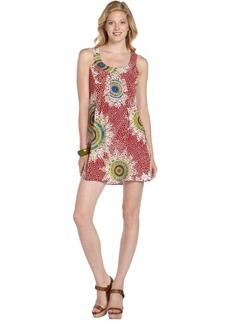 Nanette Lepore poppy printed 'Medallion' sleeveless dress