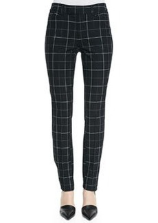 Nanette Lepore Prep School Slim Plaid Pants