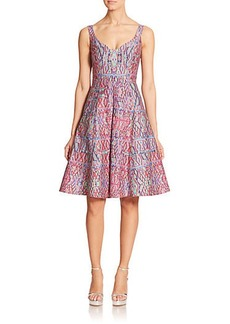 Nanette Lepore Printed Fit-&-Flare Dress