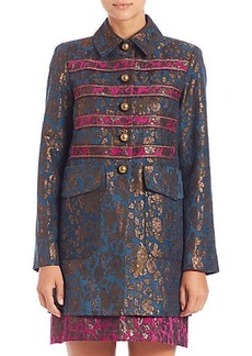 Nanette Lepore Rock 'N' Roll Brocade Coat