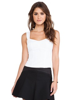 Nanette Lepore Seniorita Top in White