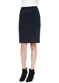 Nanette Lepore Sherlock Diamond-Pattern Pencil Skirt