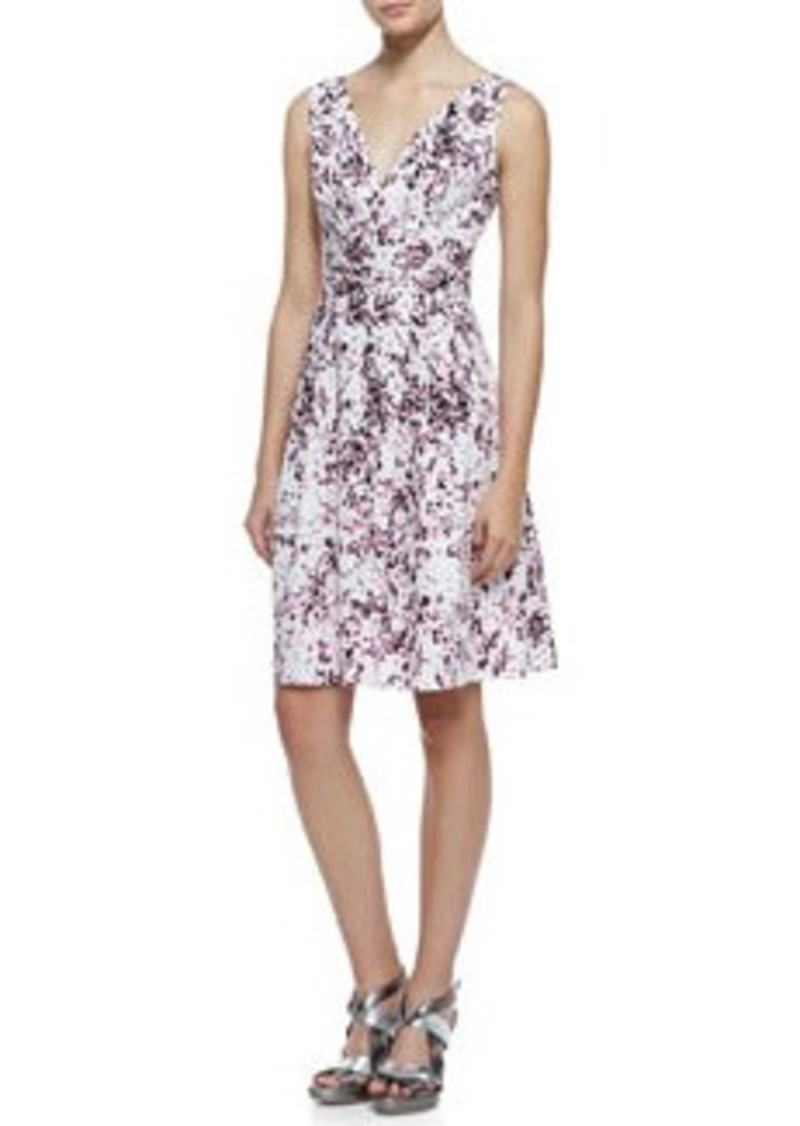 Nanette Lepore Shimmy Floral-Print Sleeveless Dress