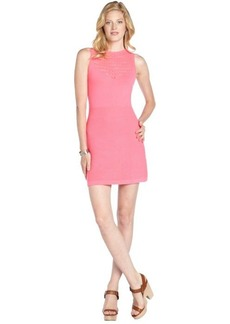 Nanette Lepore shocking pink knit 'Artistic' bodycon dress