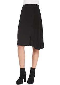 Nanette Lepore Side-Pleated Skirt