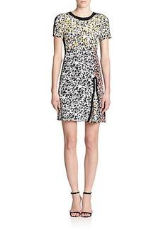 Nanette Lepore Silk Barcelona Floral Dress