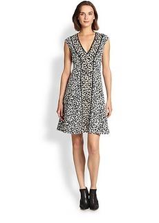 Nanette Lepore Silk/Cotton Librarian Dress